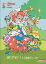 Húsvét az erdőben - Színes kifestő
