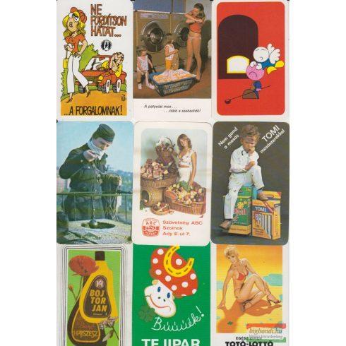 Kártyanaptárak - 1982. évi