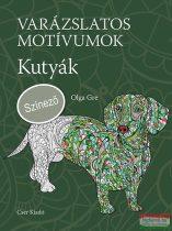 Olga Gre - Varázslatos motívumok - Kutyák - Színező
