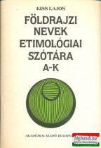 Földrajzi nevek etimológiai szótára I-II. kötet