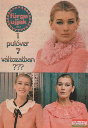 Fürge ujjak XXVI. évfolyam, 1982/1.3.4.6.7.8.10.szám
