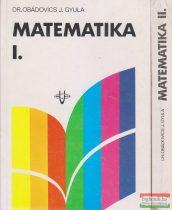 Dr. Obádovics J. Gyula - Matematika I-II.