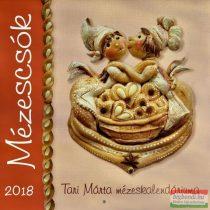 Tari Márta - Mézescsók falinaptár 2018