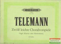 Telemann: Zwölf leichte Choralvorspiele