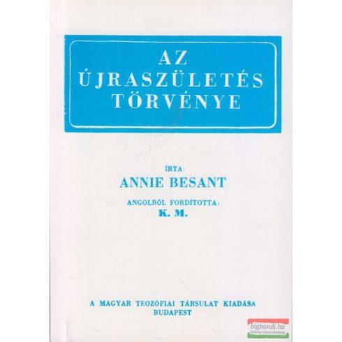 Annie Besant - Az újraszületés törvénye