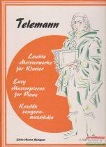 Telemann - Kezdők zongoramuzsikája