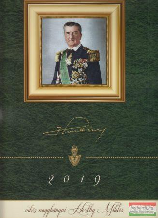 Horthy Miklós falinaptár 2019