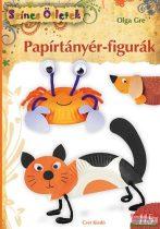 Olga Gre - Papírtányér-figurák