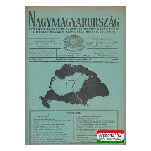 Nagymagyarország I.évfolyam/7.szám (1928)