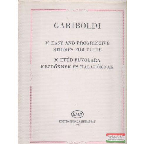 Giulio Gariboldi - 30 etűd fuvolára - kezdőknek és haladóknak