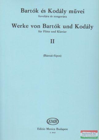 Bartók és Kodály művei fuvolára és zongorára II.