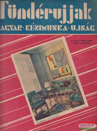 Tündérujjak - Magyar Kézimunka Újság X. évfolyam, 1934/1.szám