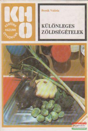 Különleges zöldségételek