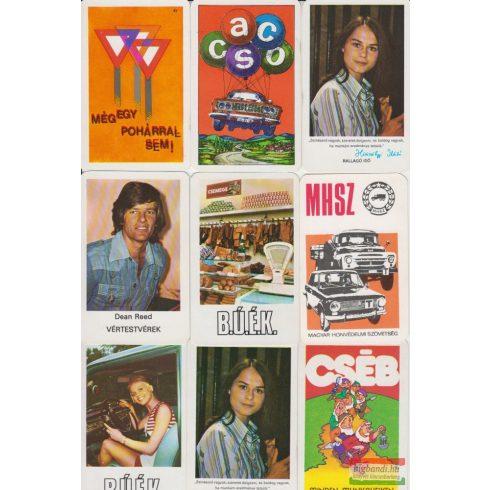 Kártyanaptárak - 1977. évi