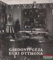 Bodó Sándor - Gárdonyi Géza egri otthona