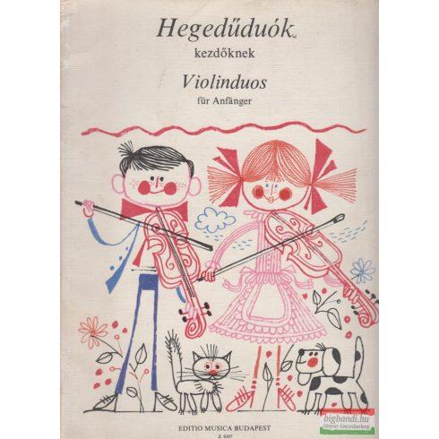 Vigh Lajos - Hegedűduók kezdőknek / Violinduos für Anfanger