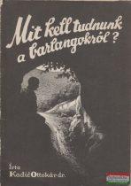 Kadic Ottokár dr. - Mit kell tudnunk a barlangokról?