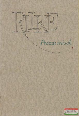 Prózai írások - Rilke