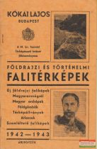 Földrajzi és történelmi falitérképek 1942-1943 árjegyzék