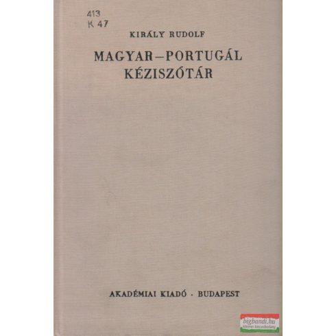 Király Rudolf - Magyar-portugál kéziszótár