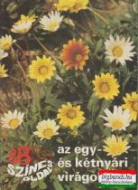 88 színes oldal az egy- és kétnyári virágokról