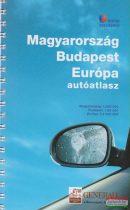 Magyarország - Budapest - Európa autóatlasz