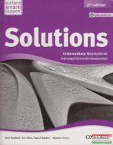 Solutions Intermediate Munkafüzet - Érettségire felkészítő feladatokkal Second Edition