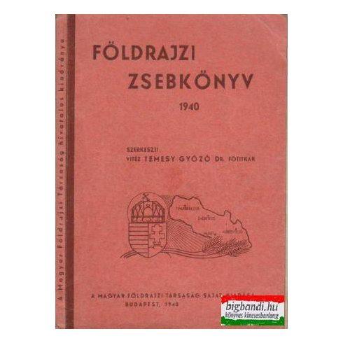 Földrajzi zsebkönyv 1940