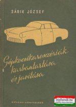 Gépkocsikarosszériák karbantartása és javítása