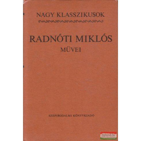 Radnóti Miklós művei