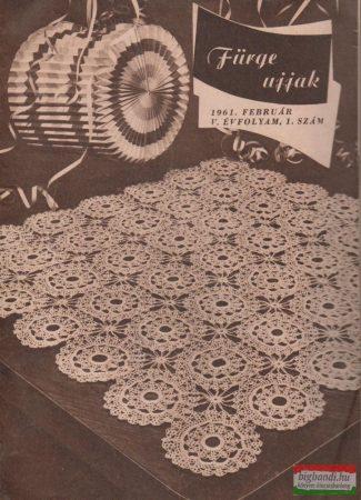 Fürge ujjak V-VII. évfolyam, 1961-63/17 szám