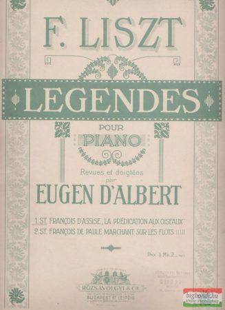 Legendes pour piano