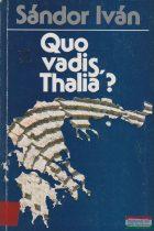 Quo vadis, Thalia?