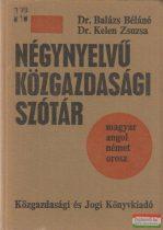 Négynyelvű közgazdasági szótár