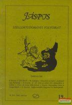 Jáspis - Szellemtudományi folyóirat 19. VI. Évf. 1995 március