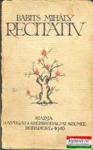 Recitativ (első kiadás)