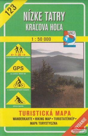 Alacsony-Tátra (Király-hegység) turistatérkép (VKÚ 123)