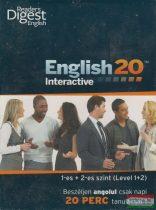 English 20 Interactive 1-es + 2-es szint (Level 1+2)