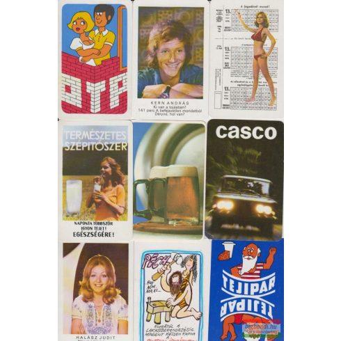 Kártyanaptárak - 1976. évi