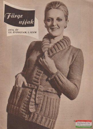 Fürge ujjak XX. évfolyam, 1976/1-6.szám