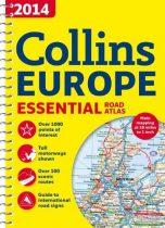 Európa atlasz (Collins Essential) 2014