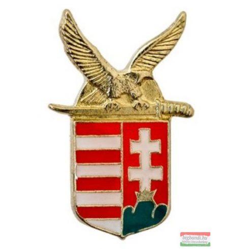 Kitűző - turulos magyar címer 15 mm