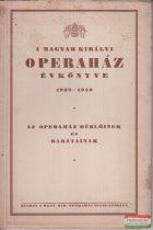 A Magyar Királyi Operaház évkönyve 1939-1940