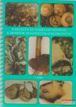 Kalmár Károly, Szőnyegi Sándor, Dr. V. Németh Mária szerk. - Karantén és veszélyes növényi károsítók diagnosztikai kézikönyve I-IV.