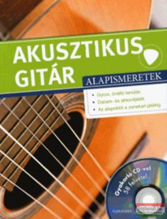 Frank Walter - Akusztikus gitár alapismeretek - CD melléklettel