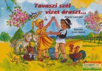 Tavaszi szél vizet áraszt... - Magyar népköltés - leporello
