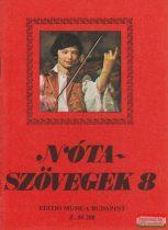 Leszler József - Nótaszövegek 8.