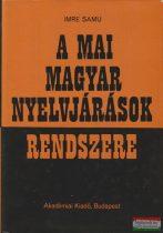 A mai magyar nyelvjárások rendszere