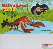 Kisvakond asztali naptár 2014