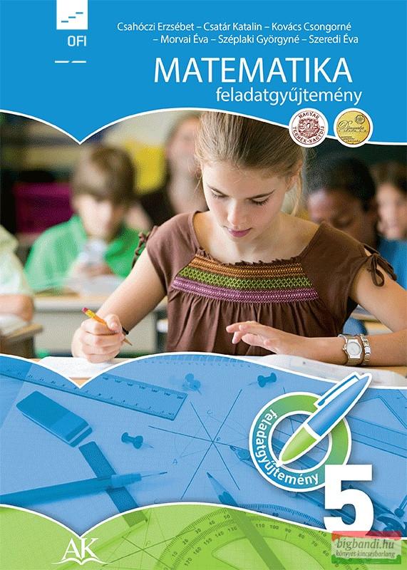 Matematika feladatgyűjtemény 5.